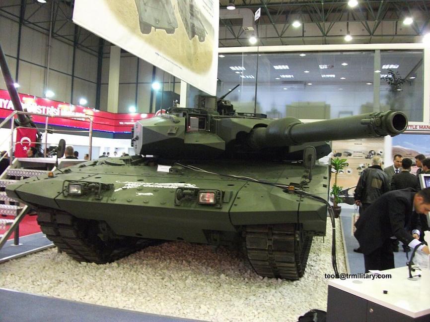 تقرير: ألمانيا ستوافق على الأرجح على تطوير دبابات Leopard التركيه  Attachment